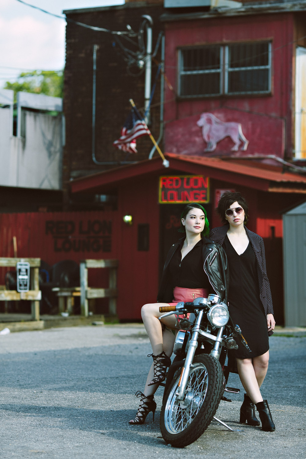 Biker Chic and a Modern Shag at Red Lion